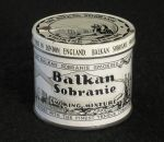 Old tin of Balkan Sobranie