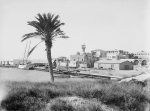 Part of the Latakia port in 1935