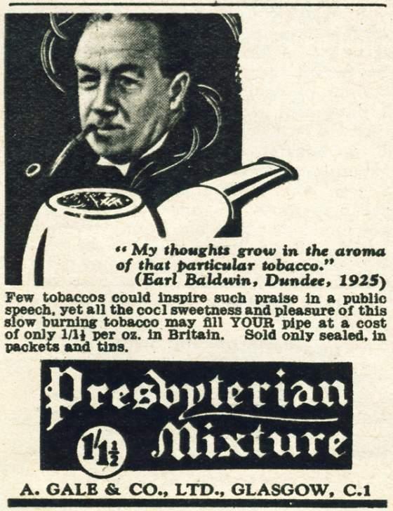 Presbyterian Mixture, version actuelle par Planta Presbyterian