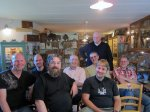 The Dutch/Belgium pipe-smoker group in the museum of Vincent Manil
