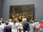 "One of the the most famous Dutch paintings: the ""Nachtwacht"" by Rembrandt van Rijn"