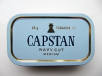 My old (± 1989) Capstan Navy Cut Medium tin
