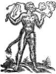 Devil of tobacco