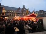 Old market square in Düsseldorf