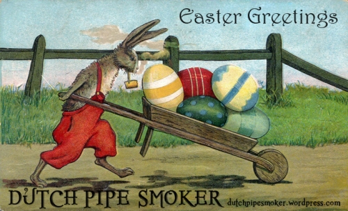 easter_greetings_dutch_pipe_smoker