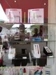 The e-smoke shop-window in Honfleur