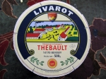 The Livarot cheese I bought, very yummie!