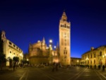 Seville cathedral with La Giralda