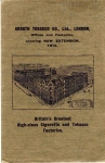 Ardath tobacco offices and factories in 1914